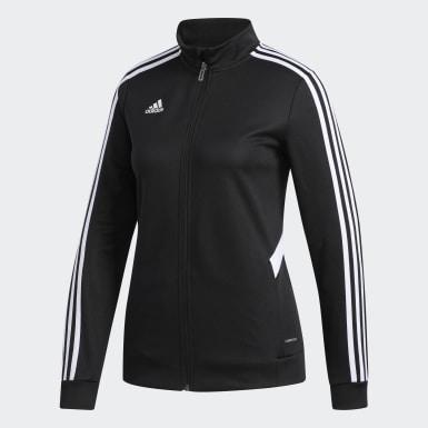 Dames Voetbal Zwart Tiro Trainingsjack