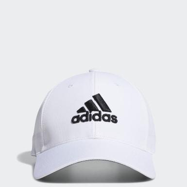 ผู้ชาย กอล์ฟ สีขาว หมวก Performance