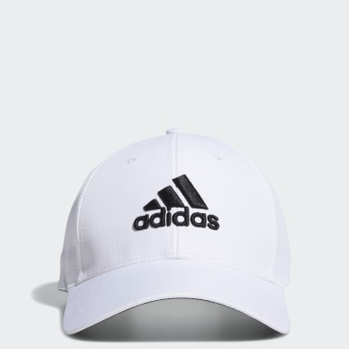 Men Golf White Performance Hat