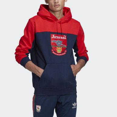 Men Originals Red Arsenal Hoodie