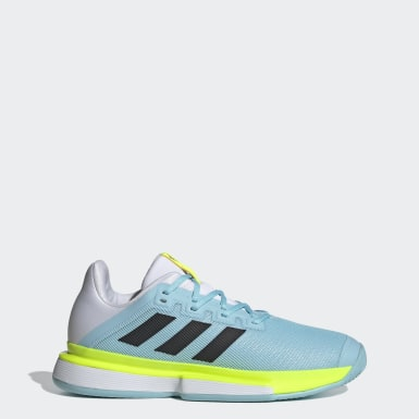 Tennis Blue SoleMatch Bounce Tennis Shoes