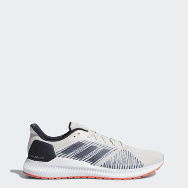 Men Running Grey Solar Blaze Shoes