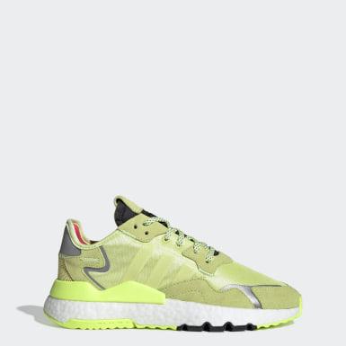 Sapatos Nite Jogger Verde Mulher Originals