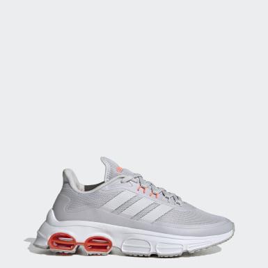 Women Sport Inspired Grey Quadcube Shoes