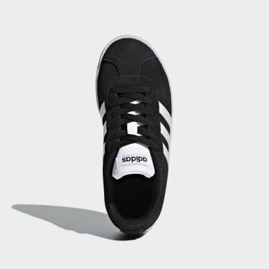 Çocuklar Sport Inspired Siyah VL Court 2.0 Ayakkabı