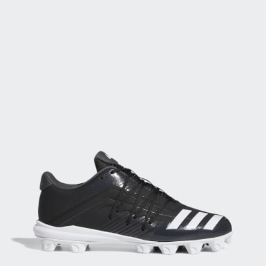 Men's Baseball Black Afterburner 6 Grail MD Cleats