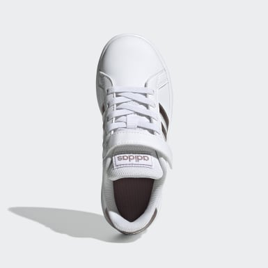Tênis Grand Court Branco Kids Sport Inspired