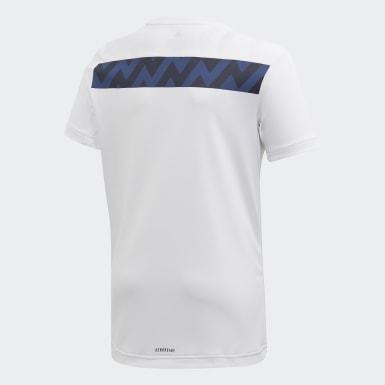 Youth 8-16 Years Yoga White XFG T-Shirt