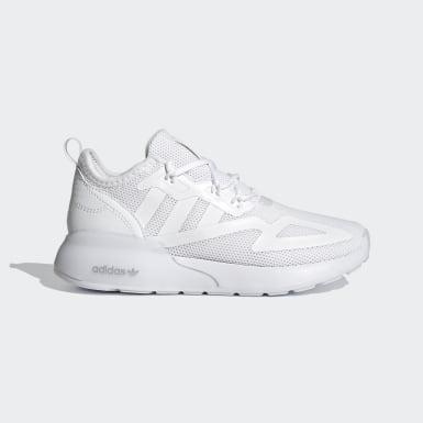 Children Originals White ZX 2K Shoes