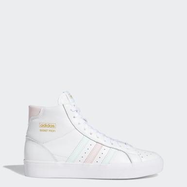 Kvinder Originals Hvid Basket Profi sko
