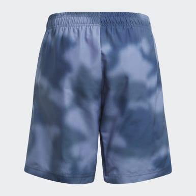 синий Пляжные шорты Camo
