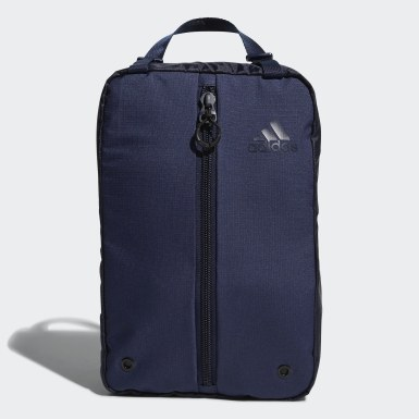 Men Golf Blue Shoe Bag