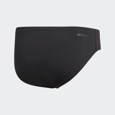 Slip de natation Pro Solid Noir Hommes Natation