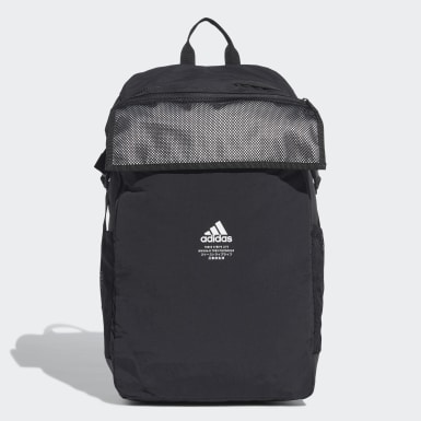 Training Black Classic Zip-Top Reflective Backpack
