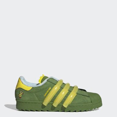 Men Originals Green Superstar 80s TR Shoes
