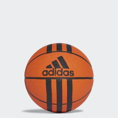 3-Stripes Mini Basketball Oransje