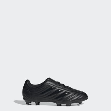 Boys Football Black Copa 20.4 Firm Ground Boots