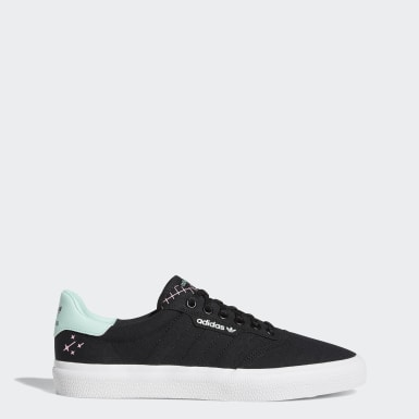 Tennis + Skateboarding Sko Svart + Rød   adidas NO