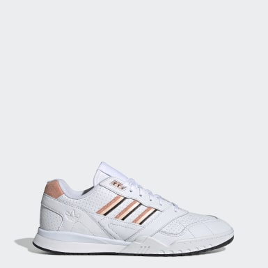 Men Originals White A.R. Trainer Shoes