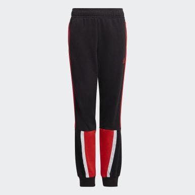 Boys Training Black Bold Joggers