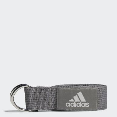 Grey Yoga strop