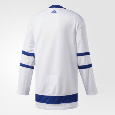 Men's Hockey White Maple Leafs Away Authentic Pro Jersey
