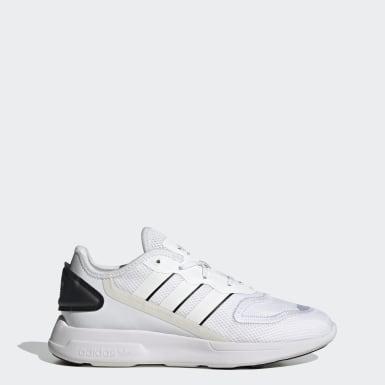 ผู้หญิง Originals สีขาว รองเท้า ZX 2K Florine