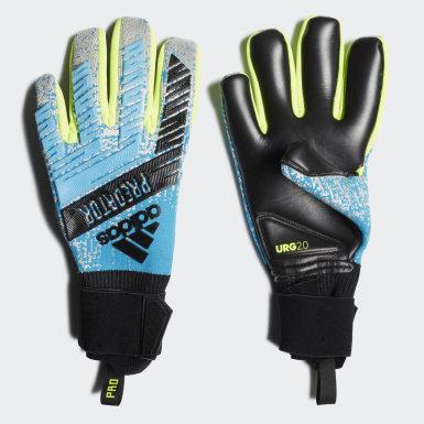 Soccer Turquoise Predator Pro Gloves