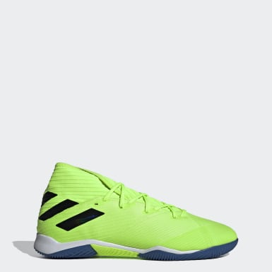 Men's Soccer Green Nemeziz 19.3 Indoor Shoes