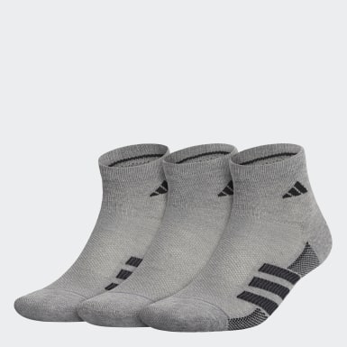 Men's Training Grey Superlite Stripe 2 Quarter Socks 3 Pairs
