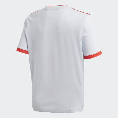 Maglia della Spagna Away Bianco Bambini Calcio