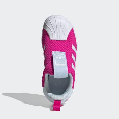 Çocuklar Originals Pembe Superstar 360 Ayakkabı