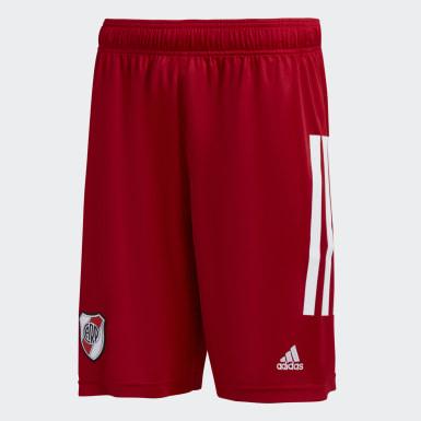 Shorts de basquet de River Plate Rojo Hombre Básquet