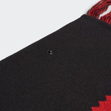 Mænd Originals Sort 424 Oversize halstørklæde