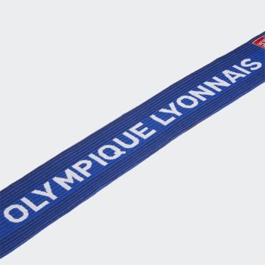 Football Blue Olympique Lyonnais Scarf