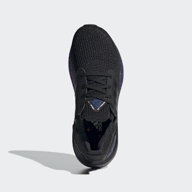 Kinder Running Ultraboost 20 Schuh Schwarz