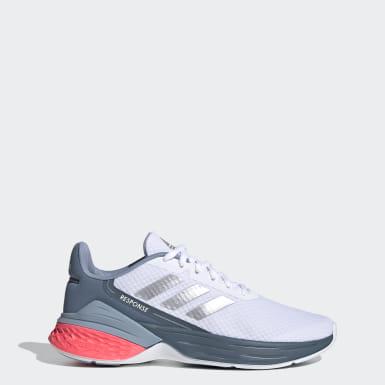 Women Running White Response SR Shoes
