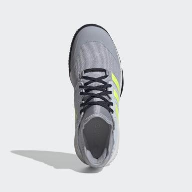 Netball Grå Court Team Bounce Indoor sko