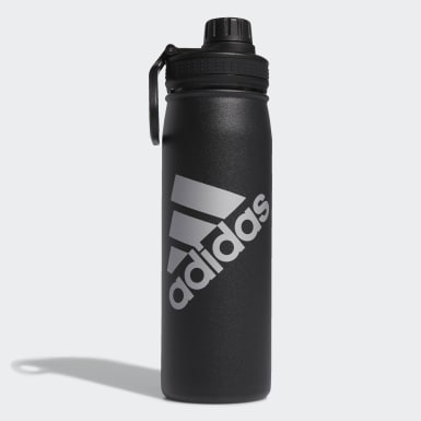 Football Black Steel Bottle 600 ML