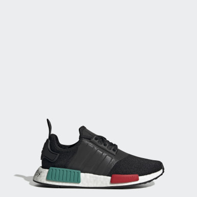 Youth 8-16 Years Originals Black NMD_R1 Shoes
