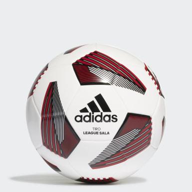 Men Football White Tiro League Sala Ball