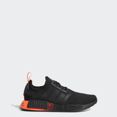 Youth 8-16 Years Originals Black NMD_R1 Star Wars Shoes
