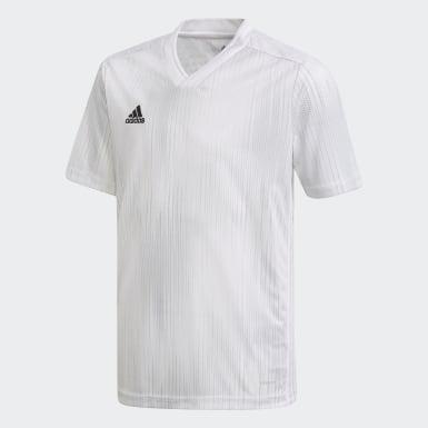 Maillot Tiro 19 blanc Adolescents Soccer