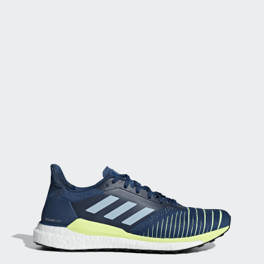 Men's Running Blue Solar Glide Shoes