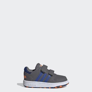 Barn Basket Grå Hoops 2.0 Shoes