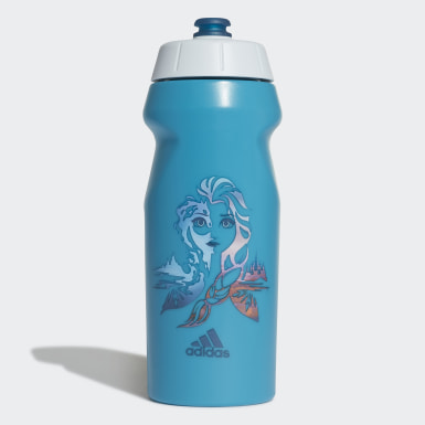 Kids Training Turquoise Frozen Water Bottle