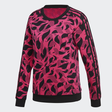 Women Training Pink Essentials Sweater