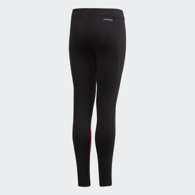 Youth 8-16 Years Yoga Black Unleash Confidence Leggings