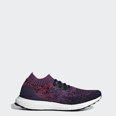 Women's Running Purple Ultraboost Uncaged Shoes