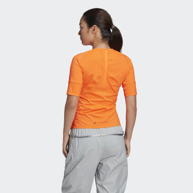 T-shirt TRUEPURPOSE adidas by Stella McCartney Laranja Mulher adidas by Stella McCartney